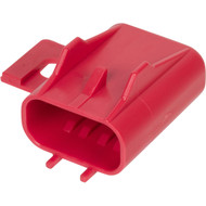 12146104 | Red Fuse Cover with Mounting Flange