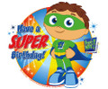 Super Why Birthday ~ Edible Icing Image