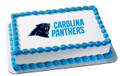 NFL Carolina Panthers ~ Edible Icing Image