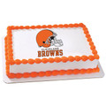 NFL Cleveland Browns Edible Icing Image