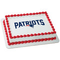 NFL New England Patriots ~ Edible Icing Image