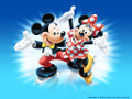 Mickey And Minnie ~ Edible Icing Image