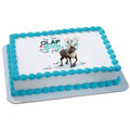 Frozen Olaf & Sven Edible Icing Image Cake Decoration Topper