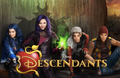 Disney's Descendants #2 Edible Icing Image Fits 1/4 Sheet Cake