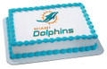 NFL Miami Dolphins ~ Edible Icing Image