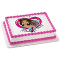 Barbie Party Princess Edible Icing Image