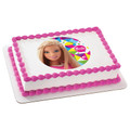 Barbie Sparkle ~ Edible Icing Image