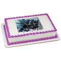 Batman and Catwoman ~ Edible Icing Image
