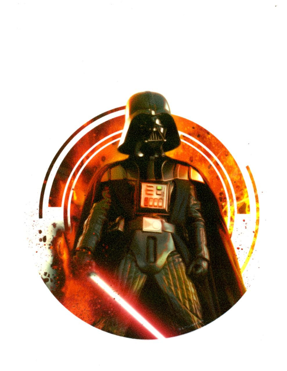 Star Wars Darth Vader Edible Icing Image Ebay