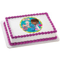 Doc McStuffins Doc & Friends Edible Icing Image