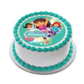 Dora and Friends Time for Aventura! ~ Edible Icing Image