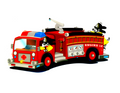 Firetruck Edible Icing Image
