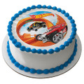 Hot Wheels Steer Clear ~ Edible Icing Image