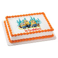 Despicable Me Minions - Le Buddies ~ Edible Icing Image