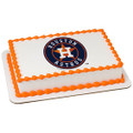 MLB Houston Astros ~ Edible Icing Image