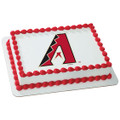 MLB Arizona Diamondbacks ~ Edible Icing Image