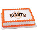 MLB San Francisco Giants ~ Edible Icing Image
