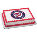 MLB Washington Nationals Baseball ~ Edible Icing Image