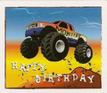 Monster Truck ~ Edible Icing Image
