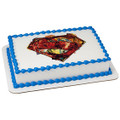 Superman Shield ~ Edible Icing Image