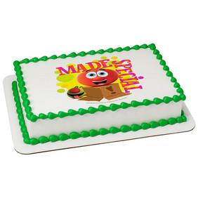 Miraculous Veggie Tales Made Special Edible Icing Image Whimsical Practicality Personalised Birthday Cards Veneteletsinfo