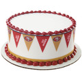 NFL 49ers Pennant ~ Edible Icing Image Border Strips