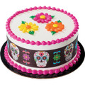 Dia De Los Muertos Day of the Dead Edible Icing Image Strips