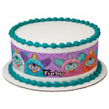 Furby Furreal Fun Edible Icing Image Cake Border Strips