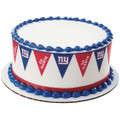 NFL Giants Pennant ~ Edible Icing Image Border Strips