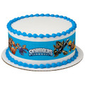 Licensed Skylanders Birthday - Designer Strips - Edible Cake Side Toppers - D...