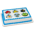 Angry Birds - Bird Is the Word ~ Edible Icing Image