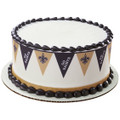 NFL Saints Pennant ~ Edible Icing Image Border Strips