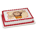 Curious George: Let's Celebrate ~ Edible Icing Image