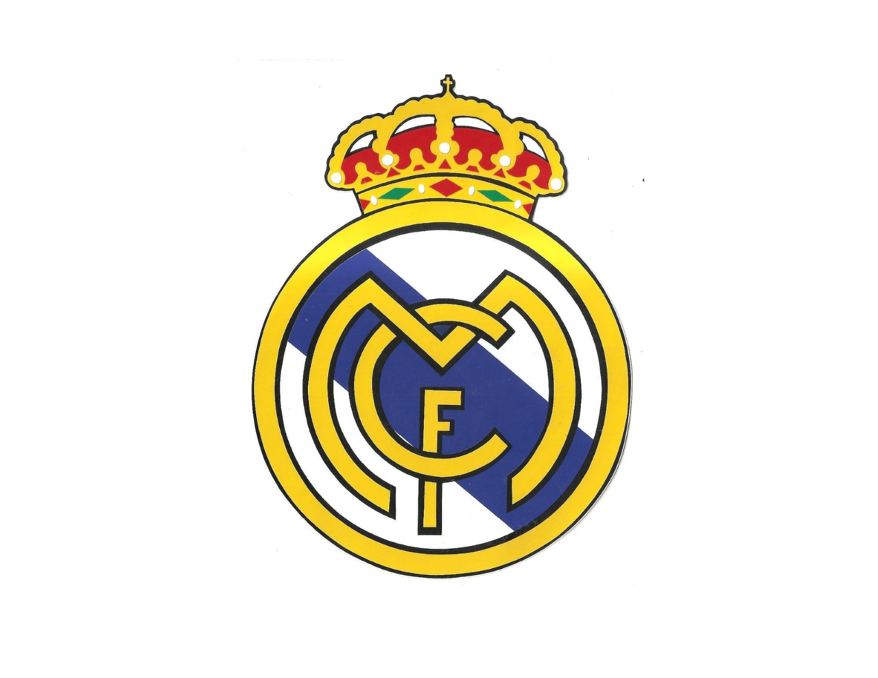 Real Madrid Edible Icing Image Cake Topper - Whimsical Practicality