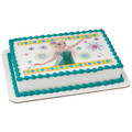 Frozen Fever Celebrate Summer ~ Edible Icing Image