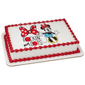 Mickey & Friends Minnie - Rockin' my Dots ~ Edible Icing Image