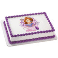 Sofia the First Sweet as a Princess ~ Edible Icing Image