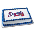 MLB Atlanta Braves ~ Edible Icing Image