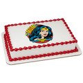 Wonder Woman Amazing Mom! ~ Edible Icing Image