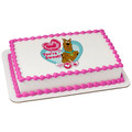 Scooby Doo! You're Sweet Valentine ~ Edible Icing Image