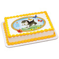 Little Golden Books: The Shy Little Kitten ~ Edible Icing Image