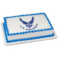 United States Air Force Logo Edible Icing Image