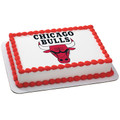 NBA Chicago Bulls ~ Edible Icing Image