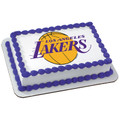 NBA Los Angeles Lakers ~ Edible Icing Image