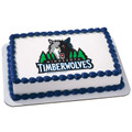 NBA Minnesota Timberwolves ~ Edible Icing Image