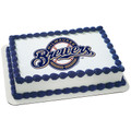 MLB Milwaukee Brewers ~ Edible Icing Image