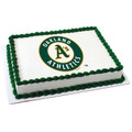 MLB Oakland A's ~ Edible Icing Image
