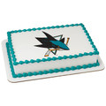 NHL San Jose Sharks ~ Edible Icing Image