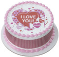 Valentine's Day: Sweet Candy ~ Edible Icing Image