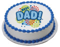 Best Dad ~ Edible Icing Image